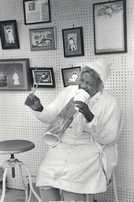 Sister Gertrude Morgan @ Jazz Fest by Harriet Blum