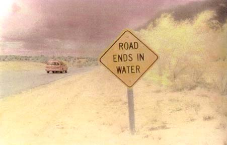 Road Ends in Water by Harriet Blum